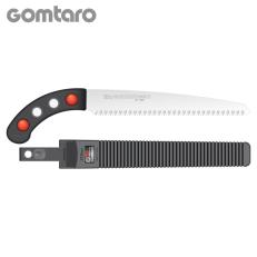 Serrucho japonés Silky Gomtaro de hoja recta (240 mm - 8 dientes/30 mm) con funda resistente de polipropileno, clip para cinturó