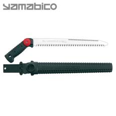 Serrucho japonés Silky Yamabico de hoja recta (300 mm - 6-10 dientes/30 mm) con funda resistente de polipropileno, clip para cin