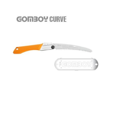 Serrucho japonés Silky GomBoy plegable (210 mm - 10 dientes/30 mm) con empuñadura de goma.
